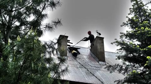Malowanie dachu Międzybrodzie Żywieckie